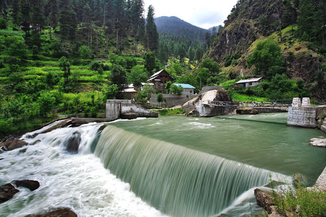 A beautiful waterfall in the Neelum Valley SOURCE: File
